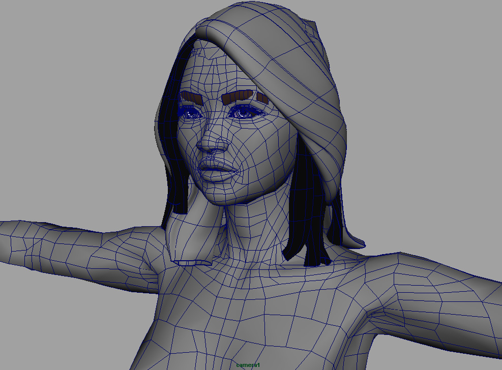 CGTalk | Body topology